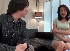Marina Matsumoto gets fucked until a jumbo creampie end
