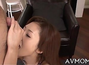 Asian mother i'_d like to fianc� can'_t bear impecunious sucking balls