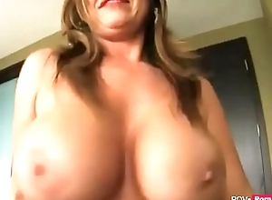 Hot and horny Cougar Stepmother seduces say no to Stepson to have sex - Pov-porn.net