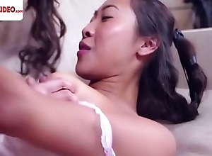 Celeste Star Sharon Lee licking her first Asian make away HD Porn