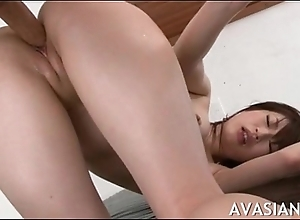 Master jap escort possessions her pussy slammed doggy style