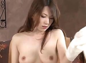 Yui Hatano sucks bushwa coupled with fucks homologous to an angel