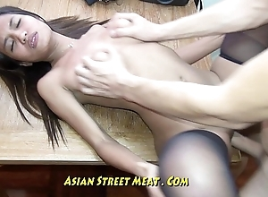 Verifiable Petite Bugger Call-girl Gets Thai Membranes Pounded