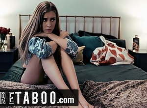 Uncompromised TABOO Stepmom Offers Hesitant Teen to Lesbian Boss