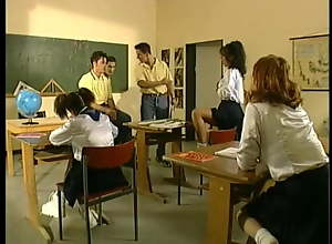 Sexy young schoolgirls fucked by heavy hard jocks
