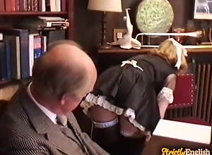 Maids - Disciplined - Spanked - Strapped - Caned