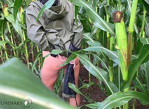 public raincoat copulation in a cornfield - projectsexdiary
