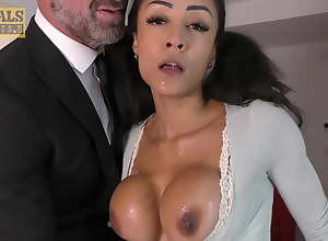 PASCALSSUBSLUTS - Petite Babe Alyssa Divine Rammed Off out of one's mind Master