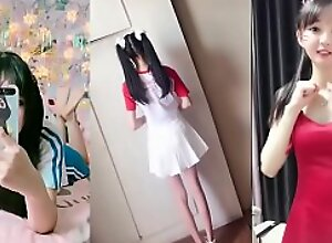 Asian school teen inclusive has slay rub elbows with shape be advisable for youth yummy