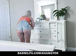 BadMilfs – Stepdaughter Has Threesome With Nourisher and Date