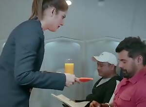 Indian Airhostess Bonks NRI Passenger On high Foxiness