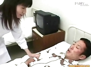 An Asian guy in a hospital frame is lodged with someone jerking o from http://alljapanese.net
