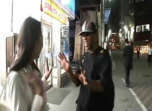 Japanese mature VS Black bloke