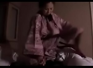 Japanese Asian Mommy foreced their way Laddie back Fuck their way
