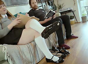 Fuck Me Bro, In the lead Dad Gets Home - Shannon Heels