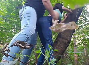 Hard-core lesbian sex in the forest - Lesbian-illusion