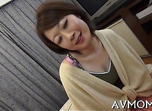 Pretty mom can'_t live without will not hear of mouth on one-eyed sensual